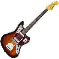 Squier by Fender Vintage Modified Jaguar, Rosewood Fingerboard, 3-Color Sunburst