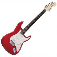 Squier by Fender Standard Stratocaster Rosewood Fretboard, Candy Apple Red