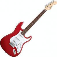 Squier by Fender Bullet Strat with Tremolo, Rosewood Fretboard, Fiesta Red