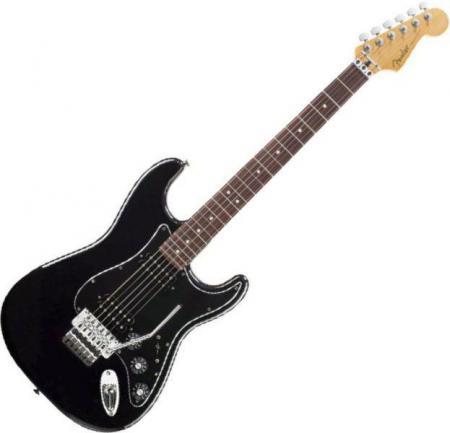 Blacktop Strat HH Floyd Rose®, Rosewood Fingerboard, Black (Fender Blacktop Strat HH Floyd Rose®, Rosewood Fingerboard, Black)
