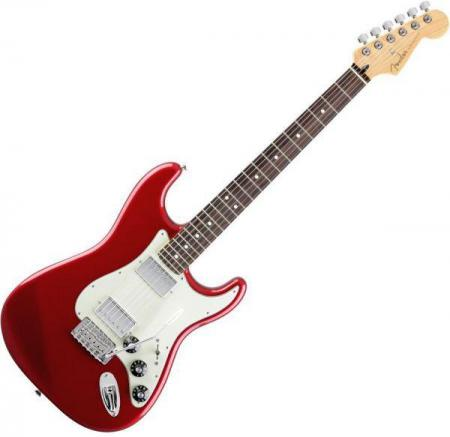 Blacktop Stratocaster® HH - Rosewood Fretboard - Candy Apple Red (Fender Blacktop Stratocaster® HH - Rosewood Fretboard - Candy Apple Red)