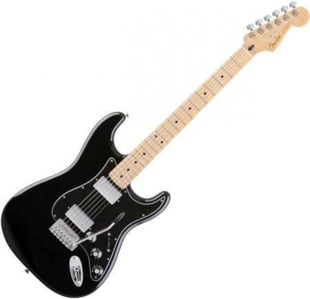 Blacktop Stratocaster® HH - Maple Fretboard - Black (Fender Blacktop Stratocaster® HH - Maple Fretboard - Black)