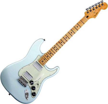 Blacktop Stratocaster® HH - Maple Fretboard - Sonic Blue (Fender Blacktop Stratocaster® HH - Maple Fretboard - Sonic Blue)