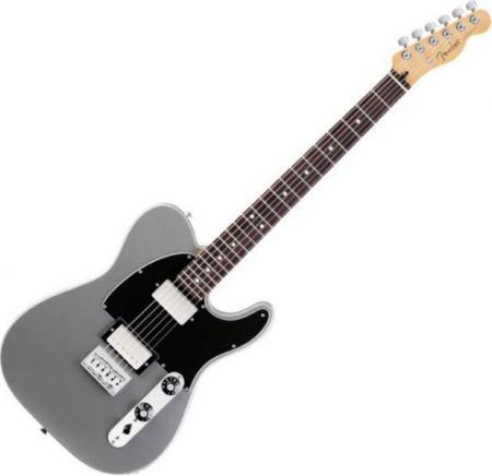 Blacktop Telecaster® HH - Rosewood Fretboard - Silver (Fender Blacktop Telecaster® HH - Rosewood Fretboard - Silver)