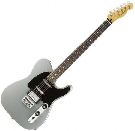 Blacktop Telecaster Baritone, Rosewood Fingerboard, Ghost Silver (Fender Blacktop Telecaster Baritone, Rosewood Fingerboard, Ghost Silver)