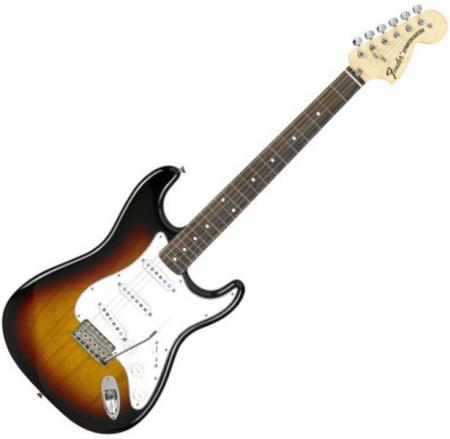Classic Series 70s Stratocaster® Rosewood Fretboard, 3-Color Sunburst (Fender Classic Series 70s Stratocaster® Rosewood Fretboard, 3-Color Sunburst)