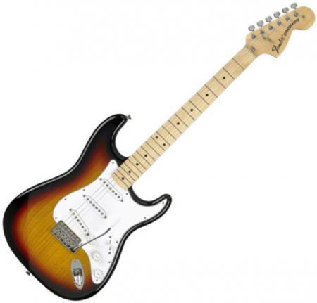 Classic Series 70s Stratocaster® Maple Fretboard, 3-Color Sunburst (Fender Classic Series 70s Stratocaster® Maple Fretboard, 3-Color Sunburst)