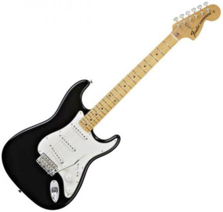 Classic Series 70s Stratocaster® Maple Fretboard, Black (Fender Classic Series 70s Stratocaster® Maple Fretboard, Black)