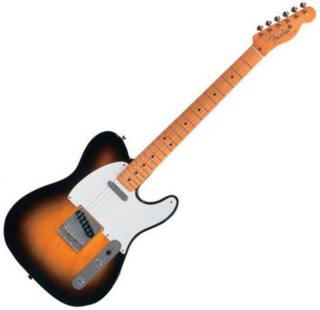 Classic Series 50s Telecaster® Maple Fretboard, 2-Color Sunburst (Fender Classic Series 50s Telecaster® Maple Fretboard, 2-Color Sunburst)