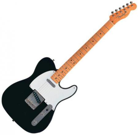 Classic Series 50s Telecaster® Maple Fretboard, Black (Fender Classic Series 50s Telecaster® Maple Fretboard, Black)