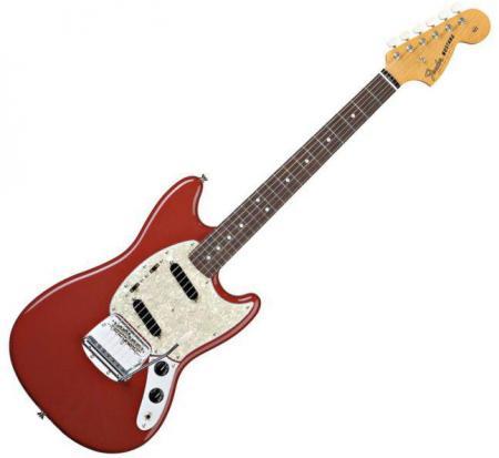 Classic Series Mustang® Rosewood Fretboard, Dakota Red (Fender Classic Series Mustang® Rosewood Fretboard, Dakota Red)