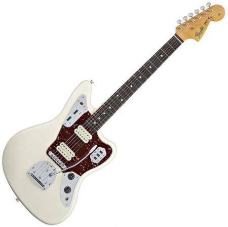 Classic Player Jaguar® Special HH, Rosewood Fretboard, Olympic White (Fender Classic Player Jaguar® Special HH, Rosewood Fretboard, Olympic White)