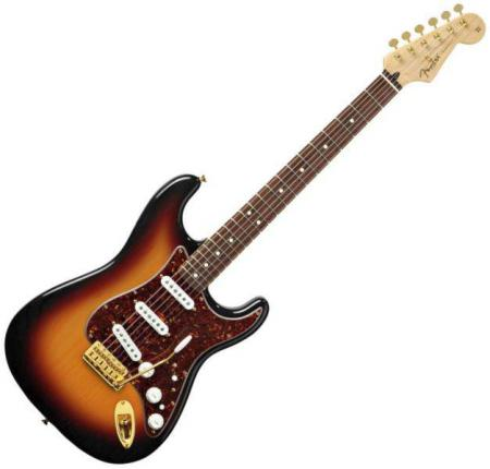 Deluxe Players Strat® Rosewood Fretboard, 3-Color Sunburst (Fender Deluxe Players Strat® Rosewood Fretboard, 3-Color Sunburst)