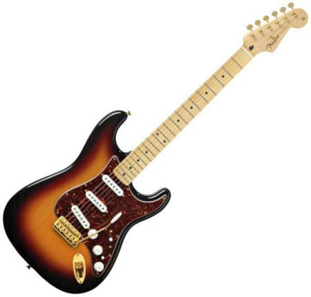 Deluxe Players Strat® Maple Fretboard, 3-Color Sunburst (Fender Deluxe Players Strat® Maple Fretboard, 3-Color Sunburst)