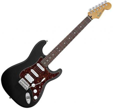 Deluxe Lone Star™ Stratocaster® Rosewood Fretboard, Black (Fender Deluxe Lone Star™ Stratocaster® Rosewood Fretboard, Black)