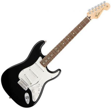 Standard Stratocaster® Rosewood Fretboard, Black (Fender Standard Stratocaster® Rosewood Fretboard, Black)