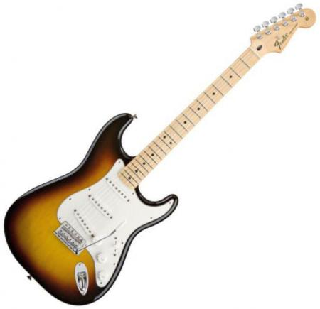 Standard Stratocaster® Maple Fretboard, Brown Sunburst (Fender Standard Stratocaster® Maple Fretboard, Brown Sunburst)