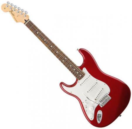 Standard Stratocaster LH Rosewood Fretboard Candy Apple Red  (Fender Standard Stratocaster LH Rosewood Fretboard Candy Apple Red )