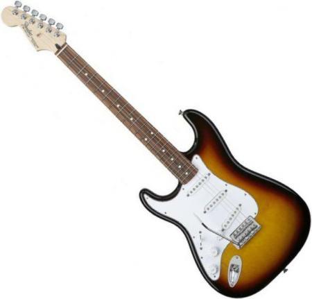 Standard Stratocaster LH Rosewood Fretboard Sunburst  (Fender Standard Stratocaster LH Rosewood Fretboard Sunburst )