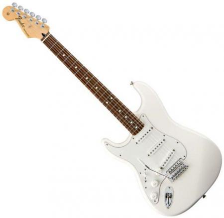 Standard Stratocaster LH Rosewood Fretboard Arctic White  (Fender Standard Stratocaster LH Rosewood Fretboard Arctic White )