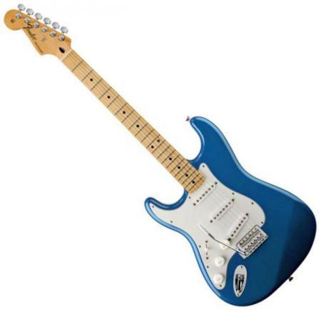 Standard Stratocaster LH Maple Fretboard Lake Placid Blue  (Fender Standard Stratocaster LH Maple Fretboard Lake Placid Blue )