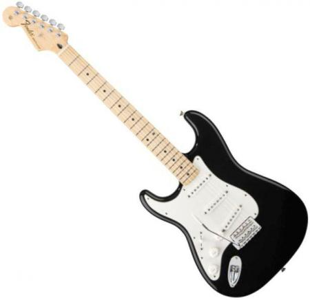 Standard Stratocaster LH Maple Fretboard Black  (Fender Standard Stratocaster LH Maple Fretboard Black )