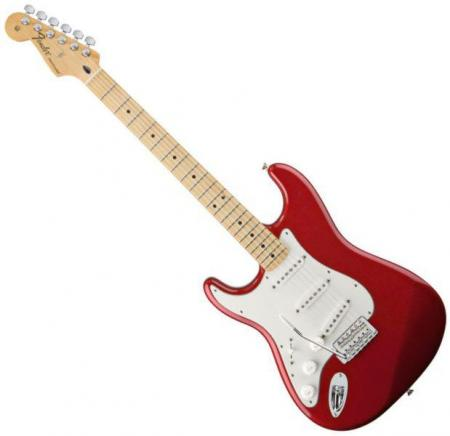 Standard Stratocaster LH Maple Fretboard Candy Apple Red  (Fender Standard Stratocaster LH Maple Fretboard Candy Apple Red )
