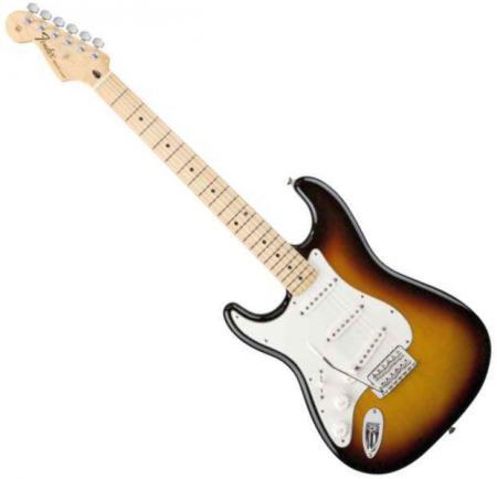 Standard Stratocaster LH Maple Fretboard Sunburst  (Fender Standard Stratocaster LH Maple Fretboard Sunburst )