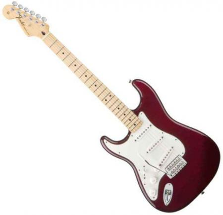 Standard Stratocaster LH Maple Fretboard Midnight Wine  (Fender Standard Stratocaster LH Maple Fretboard Midnight Wine )