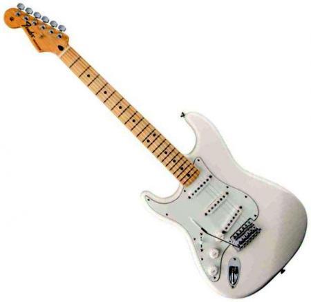 Standard Stratocaster LH Maple Fretboard Arctic White  (Fender Standard Stratocaster LH Maple Fretboard Arctic White )