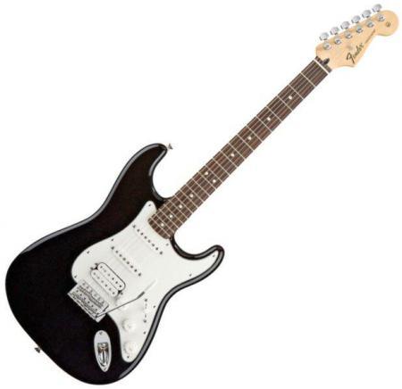 Standard Stratocaster HSS Rosewood Fretboard Black  (Fender Standard Stratocaster HSS Rosewood Fretboard Black )
