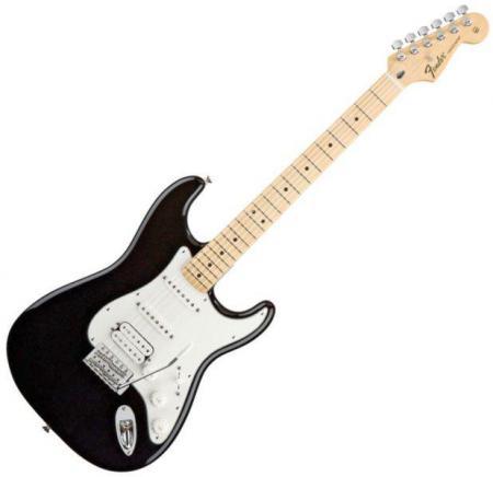 Standard Stratocaster HSS Maple Fretboard Black  (Fender Standard Stratocaster HSS Maple Fretboard Black )