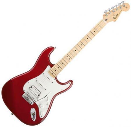 Standard Stratocaster HSS Maple Fretboard Candy Apple Red  (Fender Standard Stratocaster HSS Maple Fretboard Candy Apple Red )