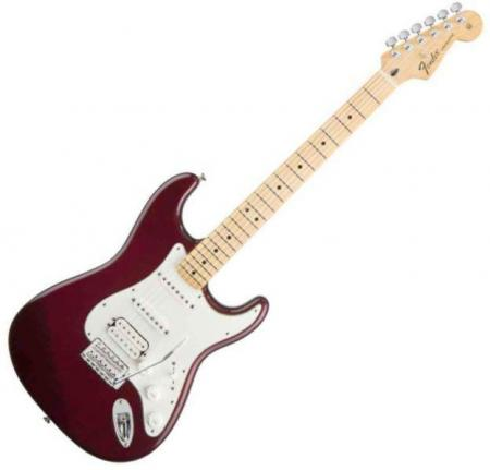 Standard Stratocaster HSS Maple Fretboard Midnight Wine  (Fender Standard Stratocaster HSS Maple Fretboard Midnight Wine )