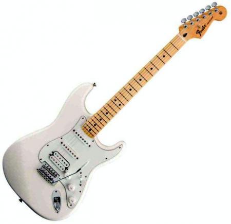 Standard Stratocaster HSS Maple Fretboard Arctic White  (Fender Standard Stratocaster HSS Maple Fretboard Arctic White )