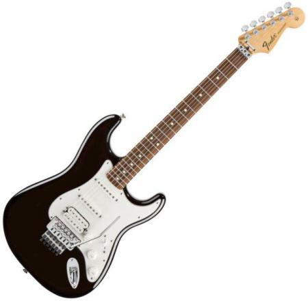 Standard Stratocaster HSS FR Rosewood Fretboard Black (Fender Standard Stratocaster HSS FR Rosewood Fretboard Black)