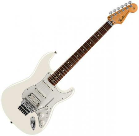 Standard Stratocaster HSS FR Rosewood Fretboard Arctic White (Fender Standard Stratocaster HSS FR Rosewood Fretboard Arctic White)