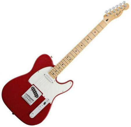 Standard Telecaster Maple Fretboard Candy Apple Red    (Fender Standard Telecaster Maple Fretboard Candy Apple Red   )