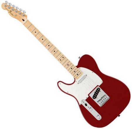 Standard Telecaster LH Maple Fretboard Candy Apple Red   (Fender Standard Telecaster LH Maple Fretboard Candy Apple Red  )