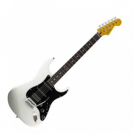 Modern Player Stratocaster® HSS, Rosewood Fingerboard, Olympic White (Fender Modern Player Stratocaster® HSS, Rosewood Fingerboard, Olympic White)
