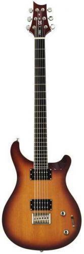 Baritone Mike Mushok (Staind) Brown Burst (PRS SE Baritone Mike Mushok (Staind) Brown Burst)