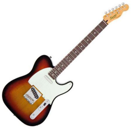 Classic Vibe Telecaster Custom, Rosewood Fretboard, 3-Color Sunburst (Squier by Fender Classic Vibe Telecaster Custom, Rosewood Fretboard, 3-Color Sunburst)