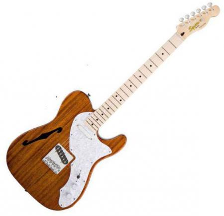 Classic Vibe Telecaster Thinline, Maple Fretboard, Natural (Squier by Fender Classic Vibe Telecaster Thinline, Maple Fretboard, Natural)