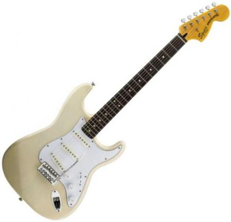 Vintage Modified Strat Rosewood Fretboard, Vintage Blonde (Squier by Fender Vintage Modified Strat Rosewood Fretboard, Vintage Blonde)