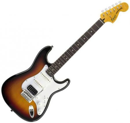 Vintage Modified Strat HSS, Rosewood Fretboard, 3-Color Sunburst (Squier by Fender Vintage Modified Strat HSS, Rosewood Fretboard, 3-Color Sunburst)
