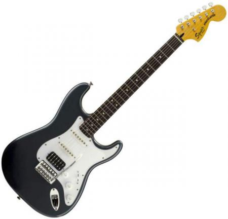 Vintage Modified Strat HSS, Rosewood Fretboard, Charcoal Frost Metallic (Squier by Fender Vintage Modified Strat HSS, Rosewood Fretboard, Charcoal Frost Metallic)
