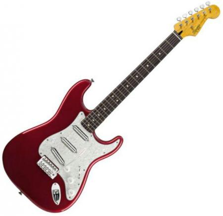 Vintage Modified Surf Stratocaster, Rosewood Fretboard, Candy Apple Red (Squier by Fender Vintage Modified Surf Stratocaster, Rosewood Fretboard, Candy Apple Red)