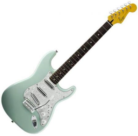 Vintage Modified Surf Stratocaster, Rosewood Fretboard, Surf Green (Squier by Fender Vintage Modified Surf Stratocaster, Rosewood Fretboard, Surf Green)