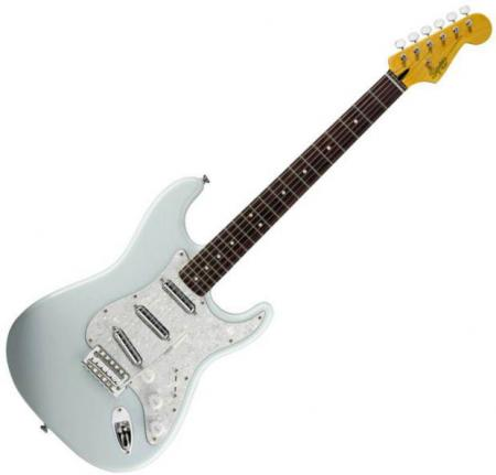 Vintage Modified Surf Stratocaster, Rosewood Fretboard, Sonic Blue (Squier by Fender Vintage Modified Surf Stratocaster, Rosewood Fretboard, Sonic Blue)
