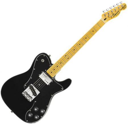 Vintage Modified Telecaster Custom, Maple Fingerboard, Black (Squier by Fender Vintage Modified Telecaster Custom, Maple Fingerboard, Black)